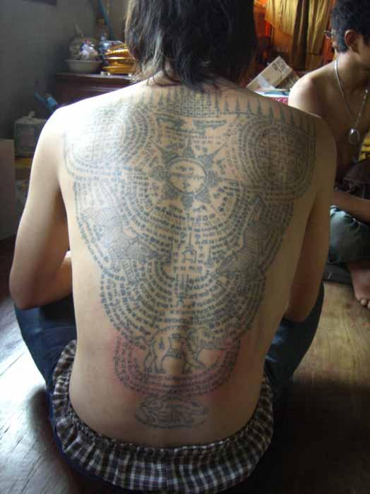 Yant-tattoo
