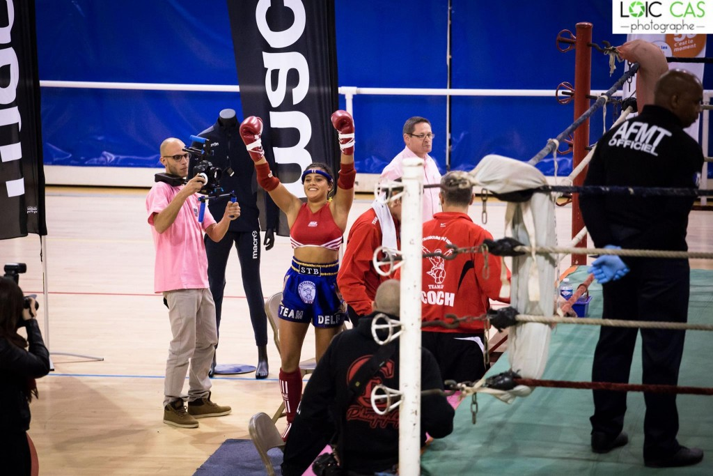 victoire Rania STB gala muay thai féminin