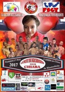 La nuit du kick boxing pour Chiara